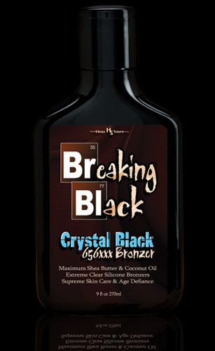 Breaking Black Crystal Black Tanning Bronzers From Hoss